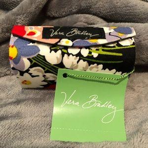 NEW! Vera Bradley Kiss Me Twice Case, Poppy Fields